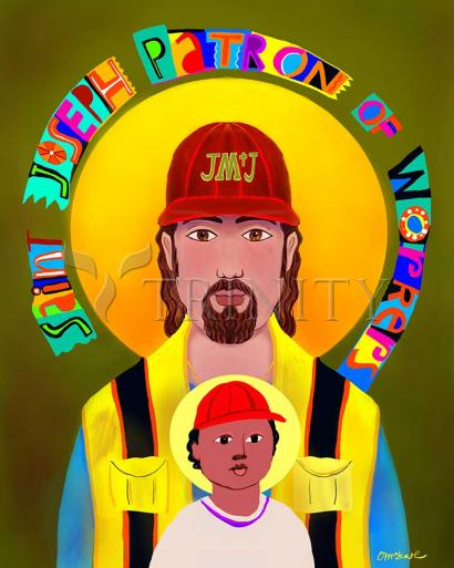St. Joseph Patron of Workers by Br. Mickey McGrath, OSFS