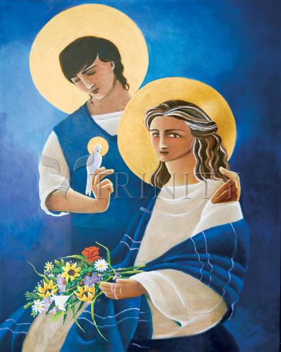 Madonna and Son by Br. Mickey McGrath, OSFS