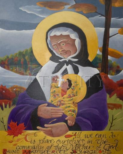 St. Marguerite Bourgeoys by Br. Mickey McGrath, OSFS