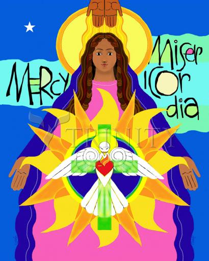 Mother of Mercy by Br. Mickey McGrath, OSFS
