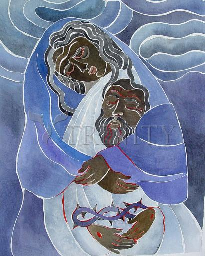 Mary, Mother of Sorrows by Br. Mickey McGrath, OSFS