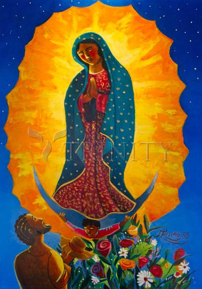 Our Lady of Guadalupe by Br. Mickey McGrath, OSFS