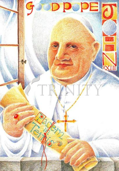 St. John XXIII by Br. Mickey McGrath, OSFS