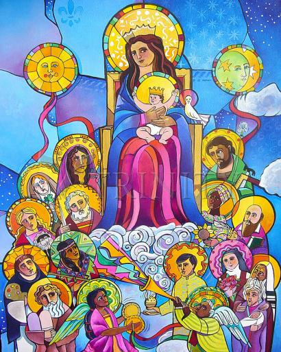 Mary, Queen of the Saints by Br. Mickey McGrath, OSFS