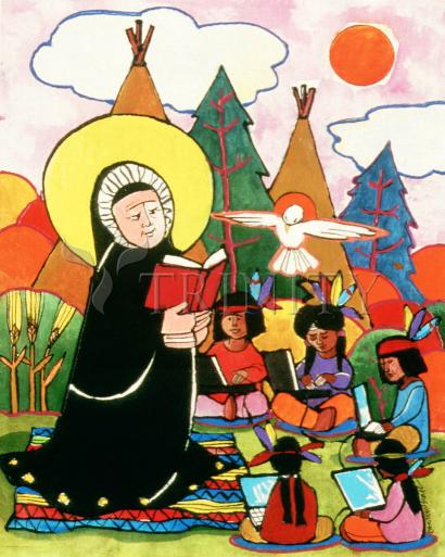 St. Rose Duchesne by Br. Mickey McGrath, OSFS