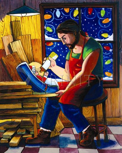 St. Joseph and Son's Christmas by Br. Mickey McGrath, OSFS