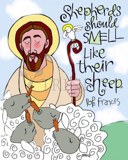 Shepherds Should Smell Like Their Sheep by Br. Mickey McGrath, OSFS