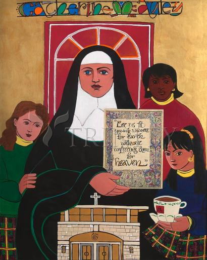 Ven. Catherine McAuley by Br. Mickey McGrath, OSFS