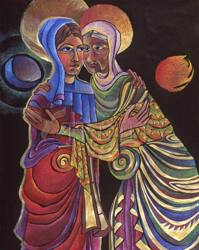 Visitation Sun and Moon by Br. Mickey McGrath, OSFS
