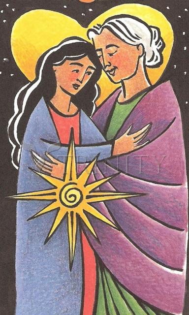 Visitation - Night by Br. Mickey McGrath, OSFS