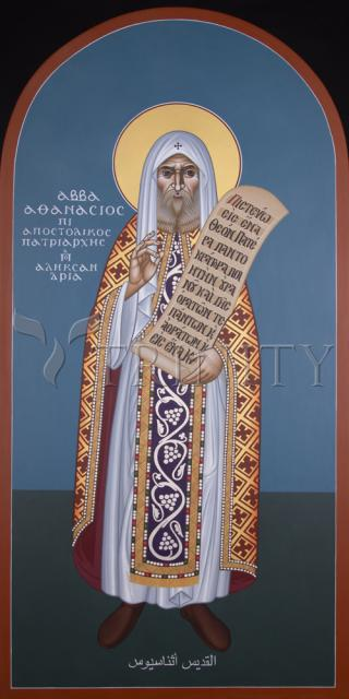 St. Athanasiusthe Great by Br. Robert Lentz, OFM