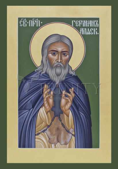 St. Herman of Alaska by Br. Robert Lentz, OFM