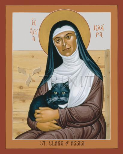 St. Clare of Assisi by Br. Robert Lentz, OFM