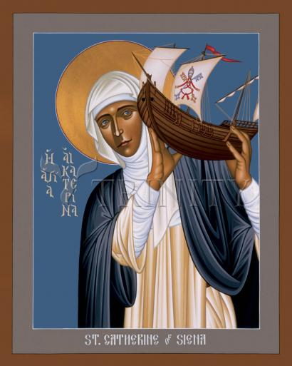 St. Catherine of Siena by Br. Robert Lentz, OFM