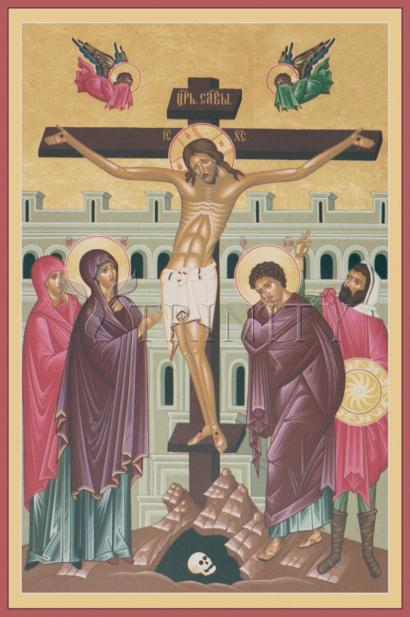 Crucifixion by Br. Robert Lentz, OFM