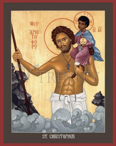 St. Christopher by Br. Robert Lentz, OFM
