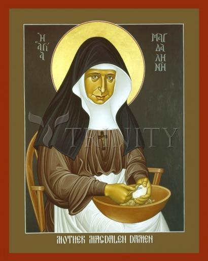 Mother Magdalen Damen by Br. Robert Lentz, OFM