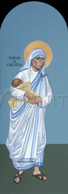 St. Teresa of Calcutta by Br. Robert Lentz, OFM