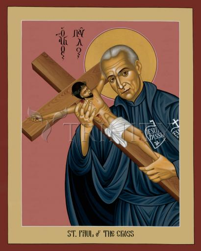 St. Paul of the Cross by Br. Robert Lentz, OFM