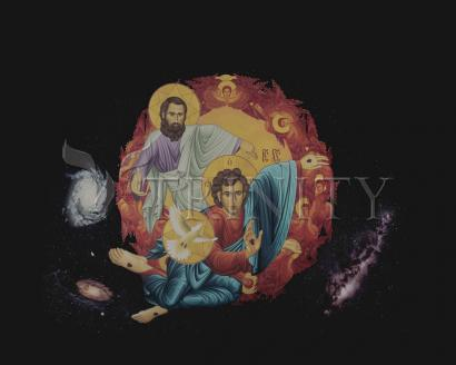 Holy Trinity by Br. Robert Lentz, OFM