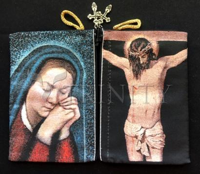 Dan Paulos' St. Bernadette and Crucifix Pouch
