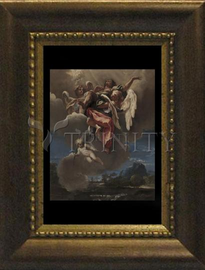 Desk Frame Bronze - Apotheosis (Rise to Heaven) of a Saint by Museum Art