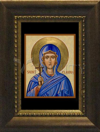 Desk Frame Bronze - St. Claudia by J. Cole
