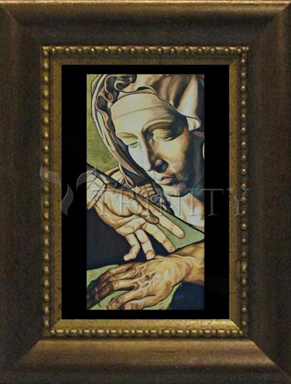 Desk Frame Bronze - A Mother's Love by L. Williams