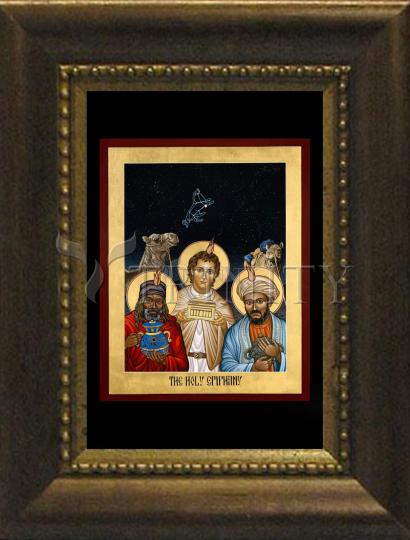 Desk Frame Bronze - Holy Epiphany by L. Williams
