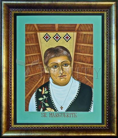 Desk Frame Bronze - Sr. Marguerite Bartz by L. Williams