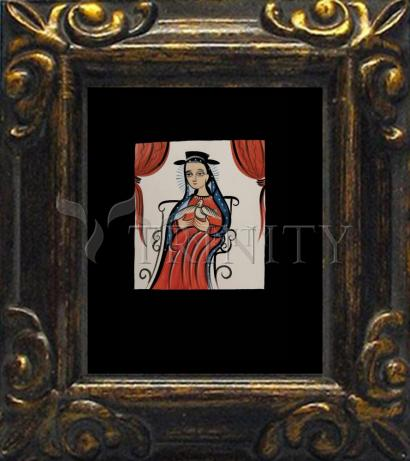 Mini Magnet Frame - Soul of Mary by A. Olivas