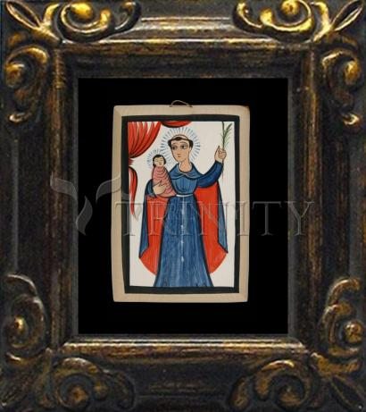Mini Magnet Frame - St. Anthony of Padua by A. Olivas