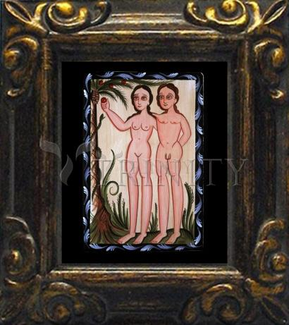 Mini Magnet Frame - Adam and Eve by A. Olivas