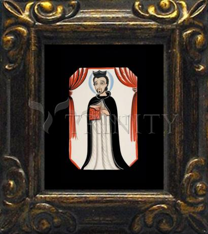 Mini Magnet Frame - St. Ignatius of Loyola by A. Olivas
