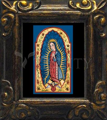 Mini Magnet Frame - Our Lady of Guadalupe by A. Olivas