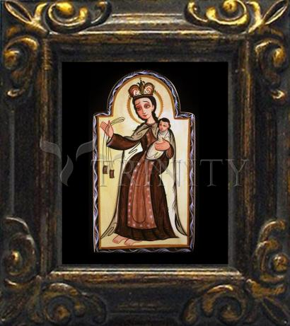 Mini Magnet Frame - Our Lady of Mt. Carmel by A. Olivas