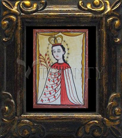 Mini Magnet Frame - Our Lady of the Roses by A. Olivas