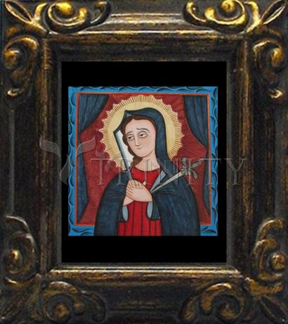Mini Magnet Frame - Mater Dolorosa - Mother of Sorrows by A. Olivas
