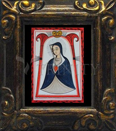 Mini Magnet Frame - Our Lady of the Cave by A. Olivas