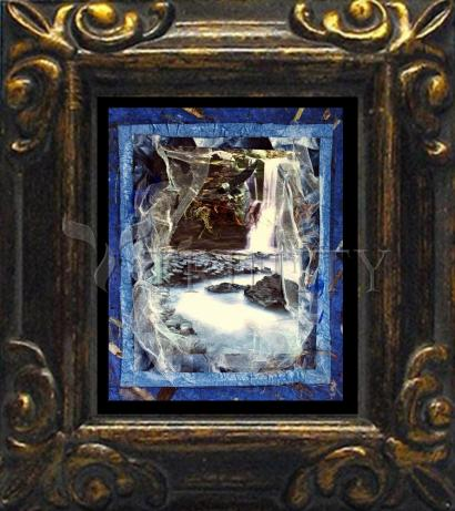 Mini Magnet Frame - Eagles Rest Upon Air by B. Gilroy