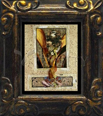 Mini Magnet Frame - Birds of Paradise by B. Gilroy
