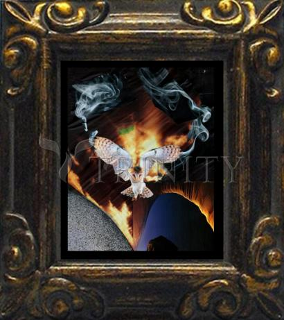 Mini Magnet Frame - Dark Parted by His Appearance by B. Gilroy