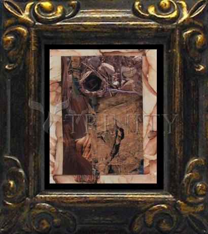 Mini Magnet Frame - Empty Tomb by B. Gilroy
