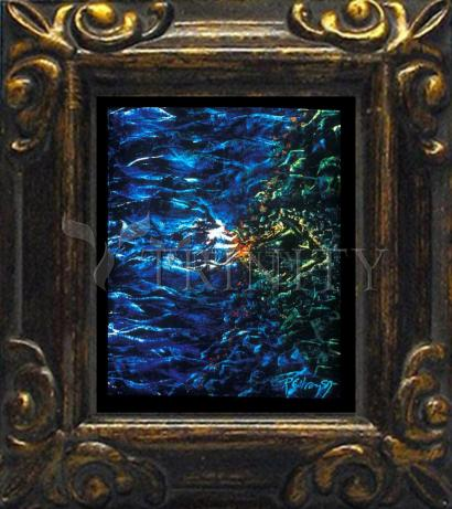 Mini Magnet Frame - Fish Fossil by B. Gilroy