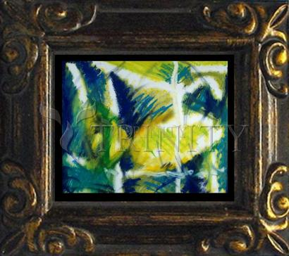 Mini Magnet Frame - Fish In Net by B. Gilroy