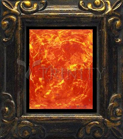 Mini Magnet Frame - Flames of Love by B. Gilroy