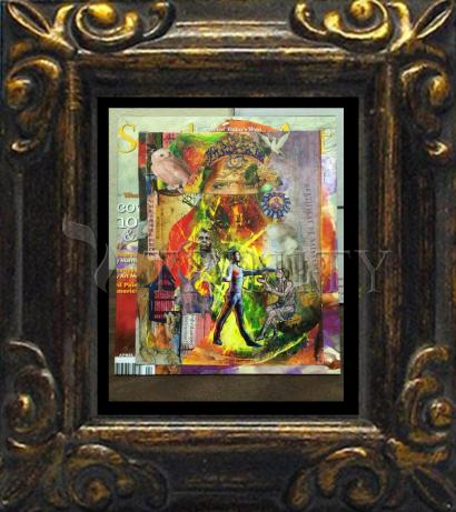 Mini Magnet Frame - Healing the Lame by B. Gilroy