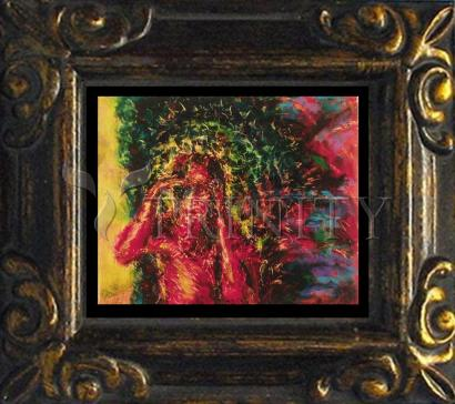 Mini Magnet Frame - St. Lazarus by B. Gilroy