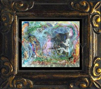 Mini Magnet Frame - Morning Mist Lifting by B. Gilroy