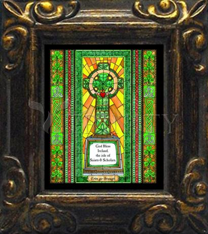 Mini Magnet Frame - Celtic Cross by B. Nippert